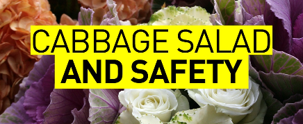 Cabbage Salad and Safety