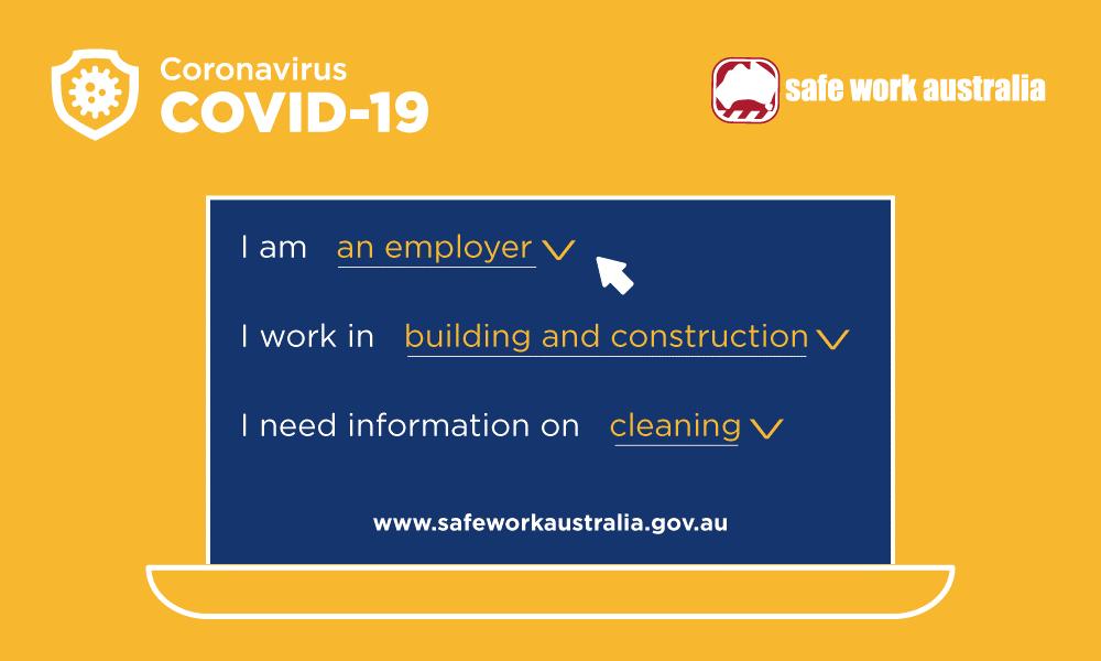 safe work australia covid19 banner